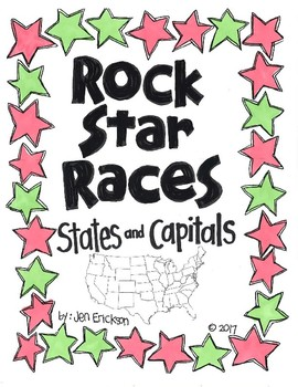 Rock Star Races:  States and Capitals
