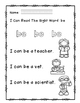 "Rock Star Reader Program: Sight Word  ""be"""