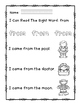 """Rock Star Reader Program: Sight Word  """"from"""""""