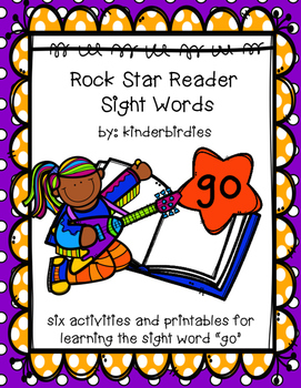 "Rock Star Reader Program: Sight Word  ""go"""