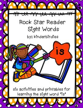 """Rock Star Reader Program: Sight Word  """"is"""""""