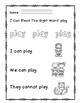 """Rock Star Reader Program: Sight Word  """"play"""""""