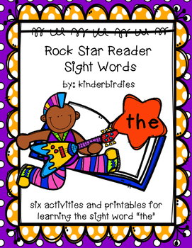 """Rock Star Reader Program: Sight Word  """"the"""""""