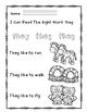 "Rock Star Reader Program: Sight Word  ""they"""