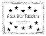 Rock Star Readers- sight word practice