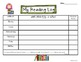 Rock Star Reading Logs: Daily and Monthly Recording Sheets  ELA Rocker Kid Theme