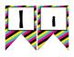 Rock Star (Rock-n-Roll) themed Bulletin board banner letters