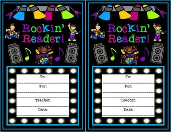 Rock Star Rockin' Reader Awards
