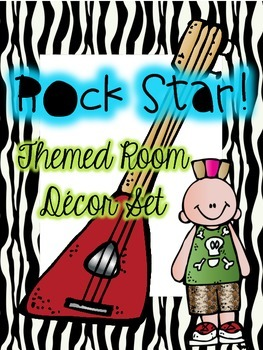 Rock Star Room Theme with Editable Pages