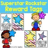 Reward Tags for Rockstar & Super Star Student