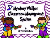 Rock Star Student Mystery Walker