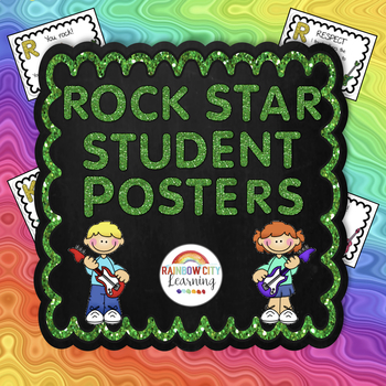 Rock Star Student Posters