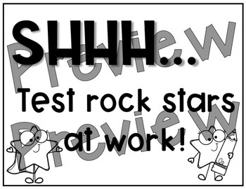 Rock Star Testing Signs