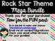 Rock Star Theme Classroom Decor: Build Your Own Mega Bundle