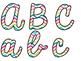 Rock Star Theme Classroom Decor: Bulletin Board Script Letters