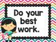 Rock Star Theme Classroom Decor: Classroom Rules