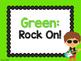 Rock Star Theme Classroom Decor: Clip Chart