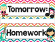 Rock Star Theme Classroom Decor: Schedule Cards
