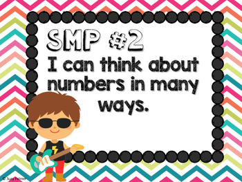 Rock Star Theme Classroom Decor: Standards for Mathematical Practice