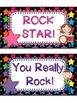 Rock Star Theme Clip Chart Behavior Management System