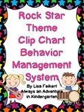 Rock Star Theme Clip Chart Behavior Management System