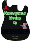 Rock Star Theme- Kindergarten Moving Up Program