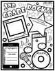 Rock Star Themed Back to School Printables Pack