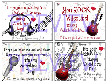 Rock Star Valentines