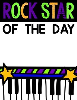 Rock Star of the Day