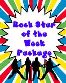 Rock Star of the Week Package