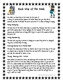 Rock Star of the Week! Student of the Week