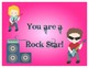 Rock Star theme behavior chart