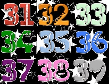 Rock Star theme- count up to 188 days