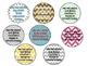 Rock Star themed Behavior tag necklaces { FREEBIE }