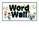 Boy Rock Star themed Word Wall headers - labels