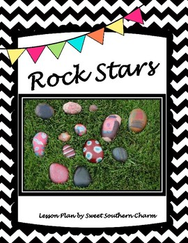 Rock Stars Art Lesson Plan by Sweet Southern Charm