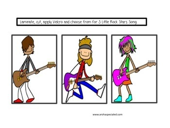Rock Stars Interactive Book and Song