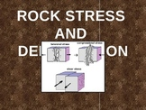 Rock Stress, Folding, and Faulting of the Earth's Surface Powerpoint