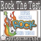 Rock That Test- Testing Motivation Slip