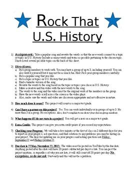 Rock That U.S. History