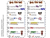 Rock This Test! Test Taking Strategy Bookmark