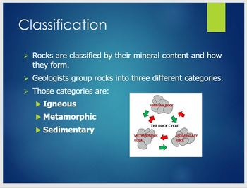 Rock Types PowerPoint Presentation/ Overview