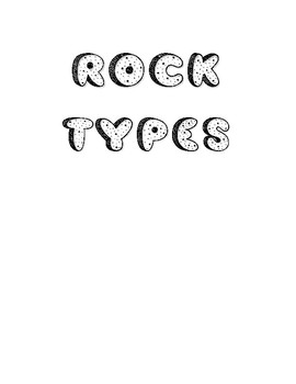 Rock Types (interactive notebook)