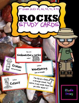 Rock Unit Flash Cards