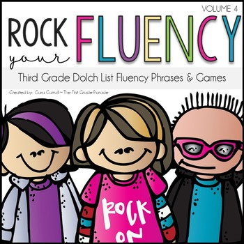 Rock Your Fluency ~ The Third Grade Edition {Editable}