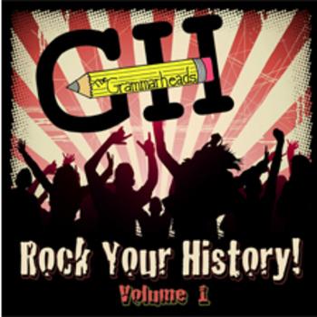 Rock Your History! Volume 1 - Educational History Music (full mp3 album)
