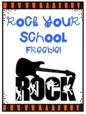 Rock Your School Signs and Activities