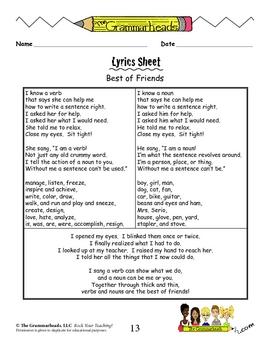 Rock Your Writing! Parts of Speech Workbook