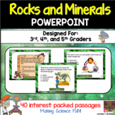 Rock and Minerals PowerPoint