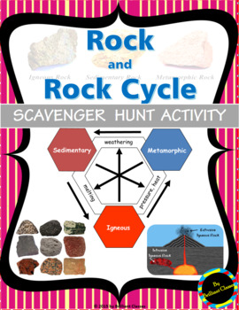 Rock and Rock Cycle Scavenger Hunt